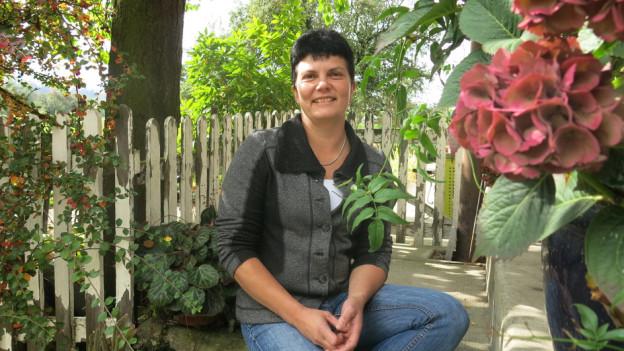 Christine Gerber von der Lobag thematisiert die Pflege zuhause