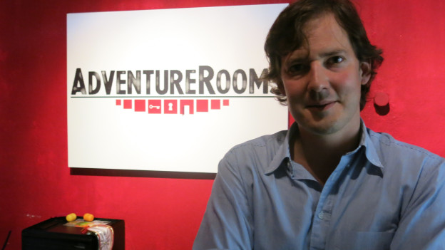 Gabriel Palacios, Betreiber der Berner «Adventure Rooms»