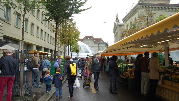 Der Märit in Bern - für einmal nicht auf dem Bundesplatz