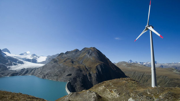 Im Interesse der Chilenen: Energieproduktion im Goms wie hier auf dem Griespass.