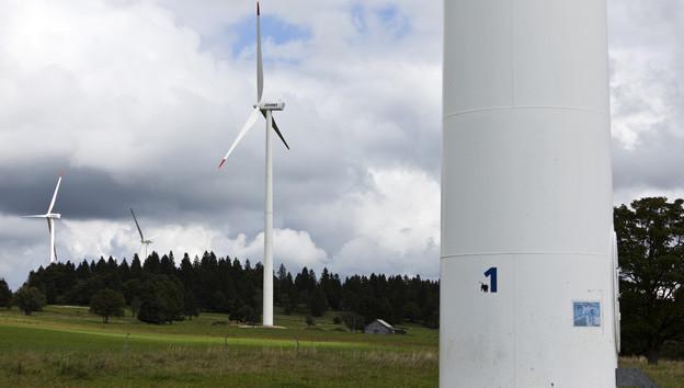 Auch im Grossraum Bern sollen Windräder entstehen.