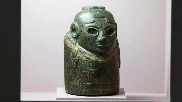 Umstrittene Steinfigur wechselt vom Museum in Bern nach La Paz