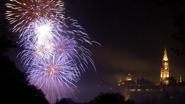 Nebst dem offiziellen 1. August Feuerwerk bleibt auch das private Abfeuern erlaubt.