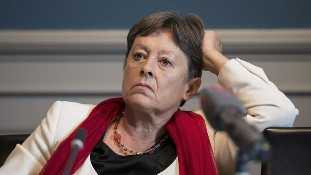 Margreth Kiener Nellen muss sich rechtfertigen.