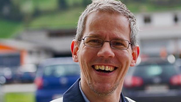 Pierre-André Kuchen vom Care Team des Kantons Bern.