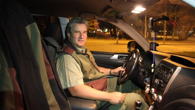 Ruedi Zbinden unterwegs als Pikett-Wildhüter.