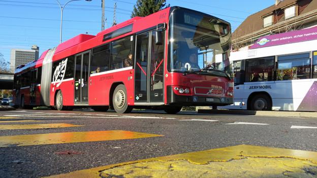 Die Buslinie nach Ostermundigen ist an der Kapazitätsgrenze.
