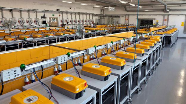 In der Montagehalle der Firma Sputnik werden keine Wechselrichter mehr montiert