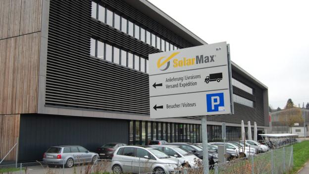 Firmengebäude von Sputnik in Biel - praktisch neu und bald verlassen.