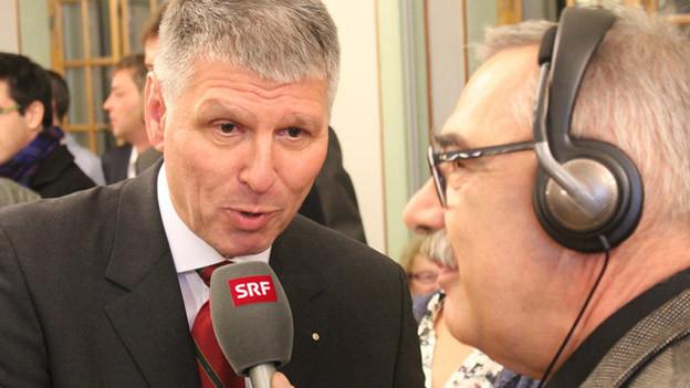 Konrad Hädener gibt sein erstes Interview als frischgewählter Thuner Gemeinderat.