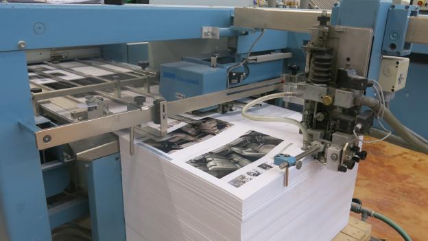 Die Schumacher AG ist die grösste Buchbinderei der Schweiz.
