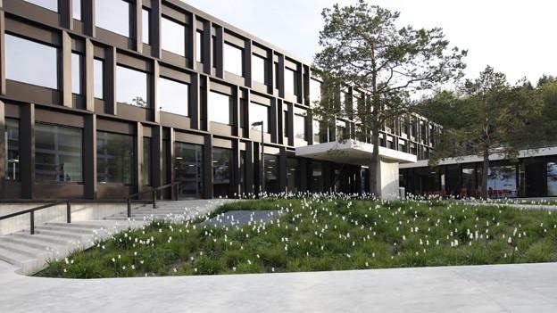 Die Sprachsupportplattform» der Berner Fachhochschule erhält Geld, im Bild der Standort Zollikofen.