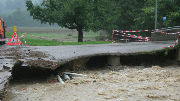Bei einem Unwetter im August 2005 verursachte die Ilfis grosse Schäden. zvg