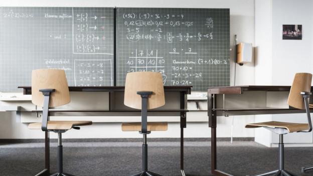 In den Fächern Mathematik, Deutsch und Französisch mussten die rund 300 Schüler erstmals eine Kontrollprüfung ablegen.