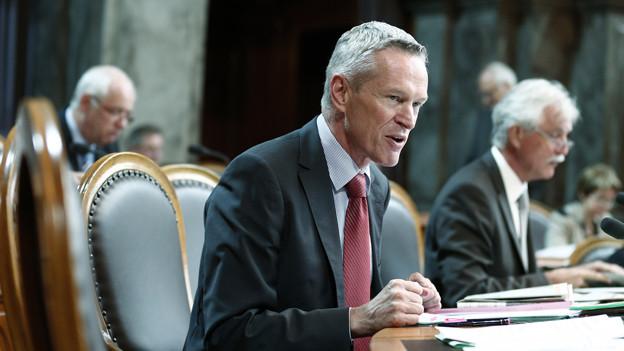 Werner Luginbühl will weiterhin in der kleinen Kammer politisieren.