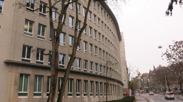 Auch das SRF-Studio Bern an der Schwarztorstrasse ist (noch) als «erhaltenswert» eingestuft.
