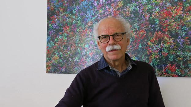 Ein Urgestein des Lokaljournalismus: Walter Däpp.