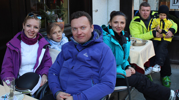 Die russischen Touristen strömen immer noch nach Zermatt
