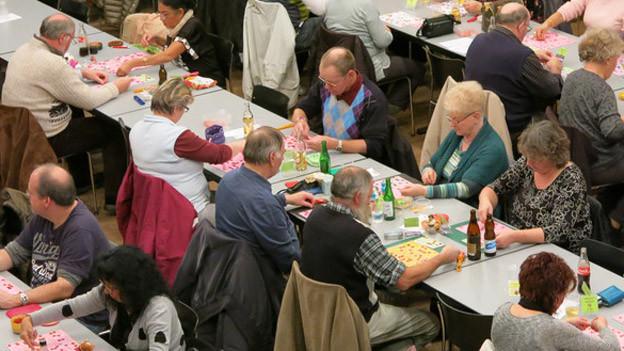 Die Lottoabende in Worb sind beliebt.