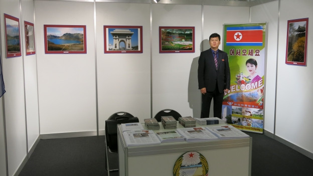 So präsentiert sich Nordkorea in Bern.