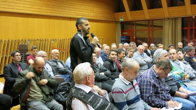 Über 90 Personen kamen in Bümpliz an die ausserordentliche Hauptversammlung.
