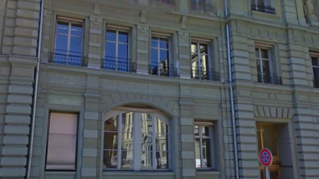 Das Gebäude an der Predigergasse in Bern.