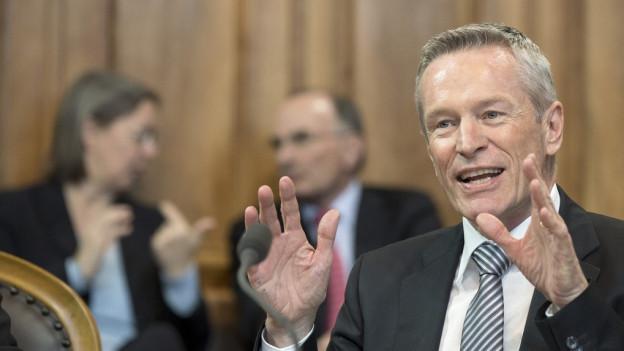 Die BDP nominiert Ständerat Werner Luginbühl.