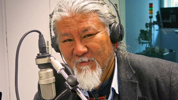 Der Exil-Tibeter Loten Namling.