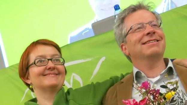 Das neue Duo an der Spitze: Natalie Imboden und Jan Remund.