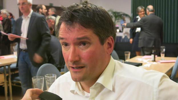 Der Ständeratskandidat der Freiburger SP: Christian Levrat