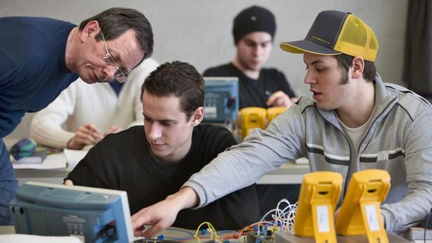 Die Lehrlinge der Technischen Fachschule könnten künftig in Burgdorf ihren Beruf lernen.