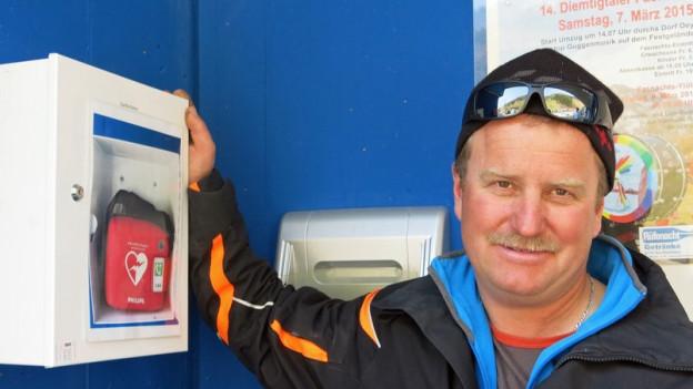 Hans Wiedmer ist einer von 500 Helfern.