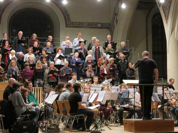 Brass Band und Chöre als spezielle musikalische Mischung