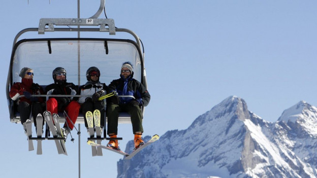 Auch wenn die Nationalbank den Euro-Mindestkurs aufhob, kamen ausländische Touristen ins Berner Oberland.