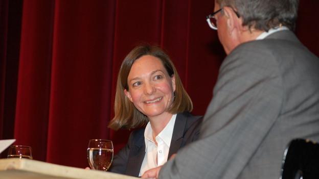 Schweizerhof-Chefin Iris Flückiger.