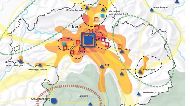 Neue Verkehrs- und Siedlungsplanung in der Region Bern