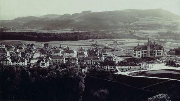 Die Umwandlung der burgerlichen Stadtfelder in Bauland führte zu immensem Reichtum.