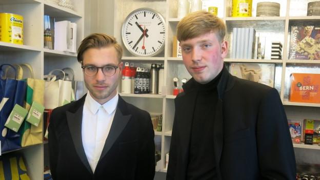 Christian Herren und Levin Dennler.