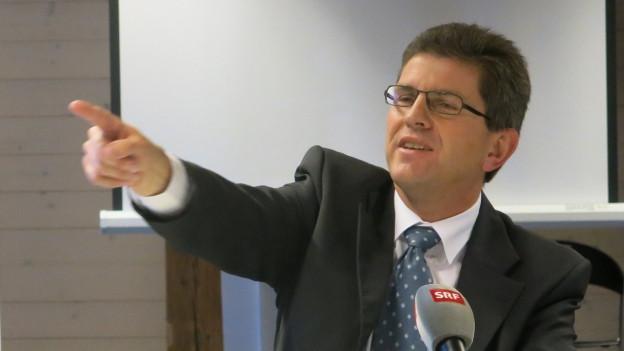 Der Bieler Stadtpräsident Erich Fehr.