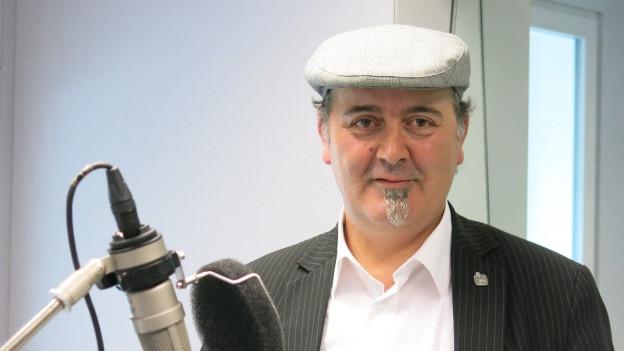 Roberto Brigante, «singender Plättlileger» aus Thun.