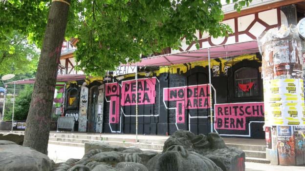 Die Reitschule Bern will ein Ort ohne Drogendeal sein.