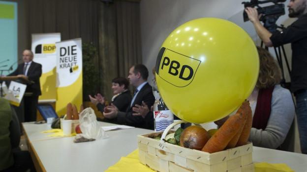 Die BDP will dieses Mal nicht mehr allein in die Wahlen.