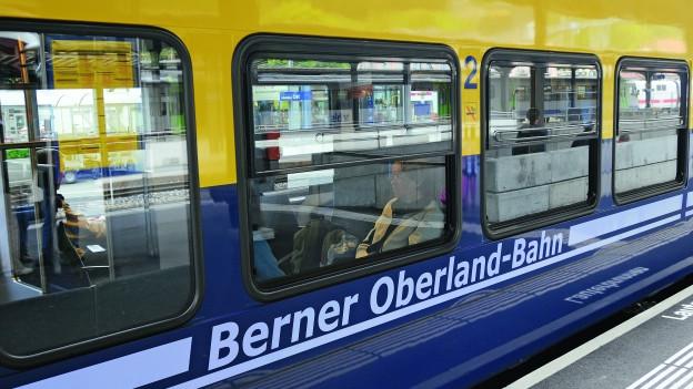 Zwischen Wilderswil und Lauterbrunnen verkehrten am Dienstag keine Züge.