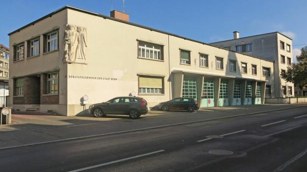 Neues Leben zieht ein in die alte Feuerwehrkaserne in Bern.