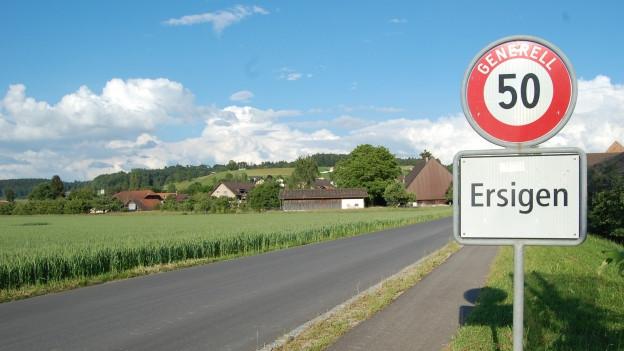 Ab 2016 hat die Emmentaler Gemeinde Ersigen rund 360 Einwohnerinnen und Einwohner mehr. Oberösch und Niederösch haben der Fusion deutlich zugestimmt.