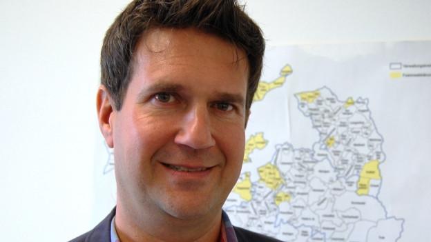Rolf Widmer vom AGR des Kantons Bern.