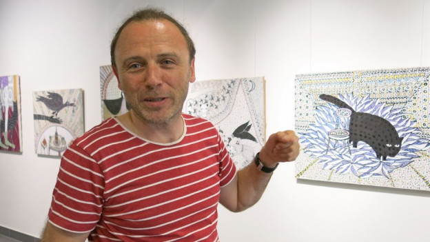 Dimitri Vasylyev vom Art Dialog Festival in Biel