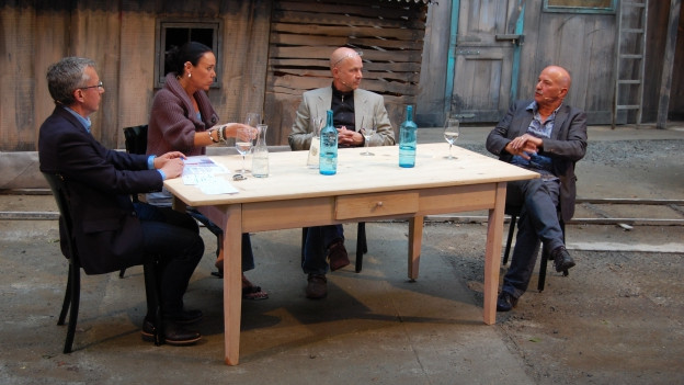 Peter Brandenberger, Livia Anne Richard, Thomas Scheidegger und Ueli Bichsel.