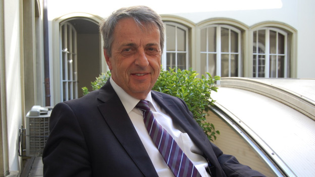 Joseph Rohrer, Verwaltungsratspräsident des Berner Inselspitals.