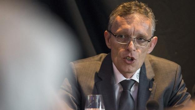 Er ist neben dem Eis gefordert: Verwaltungsratspräsident Michel Volet.